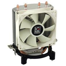 Dissipatore CPU Cosmo Cool LC-CC-95 ad Aria per Socket Intel LGA 775/1150/1151/1155/1156 e AMD AM2 / AM3 / AM4 / FM1 / FM2