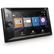 Sintolettore DVD XAVW651BT Bluetooth Potenza 4 x 55W Supporto DVD / Xvid / CD / Mp3 / Jpeg / WMC / AAC / WAV / FLAC / USB / AUX Nero