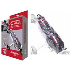 S Clear Rain Capo Con Zip Per Carrelli Golf Universale