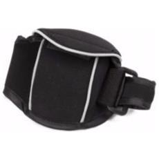 Neoprene Arm Pocket Wallet Fascia da braccio Nero