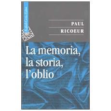 La memoria, la storia, l'oblio