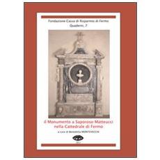 Il monumento a Saporoso Matteucci nella cattedrale di Fermo