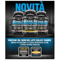 Proteine Micro-iso 800g Proteina Whey Isolate Microfiltrate Microiso