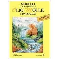 Modelli per dipingere ad olio molle i paesaggi