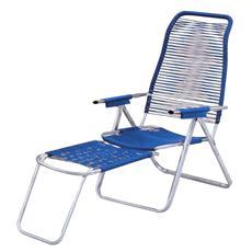 Sdraio cordonata schienale ergonomico colore blu