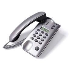 Telefono Bistandard Da Tavolo E Parete - Small Silver