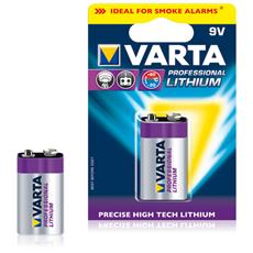 1 Varta Lithium 9V-Block 6 LR 61