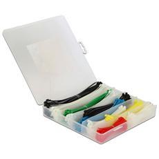 ISWT-SET-CL600 - Fascette Fermacavo Colorate Kit da 600 pz