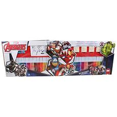 Marvel: Mega Colouring 60 Pennarelli - Avengers