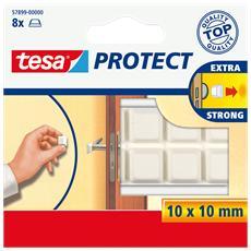Rettangoli protettivi in gomma Tesa - 10x11 mm - 57899-00000-00