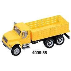 4006-88 Camion 4900 Cassonato 3 Assi Yellow Modellino