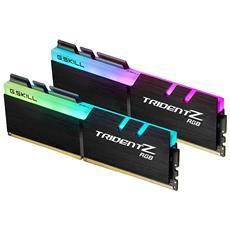 Memoria Dimm Trident Z RGB 16GB (8 GB x 2) DDR4 3200 MHz CL16