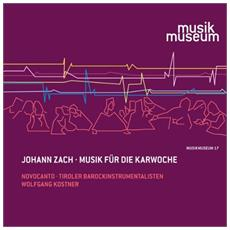 Zach, J. - Musik Fuer Die Karwoche