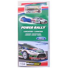 Gioco Da Tavolo Lanciatore Power Rally Motorama Ford Citroen Mini Verde