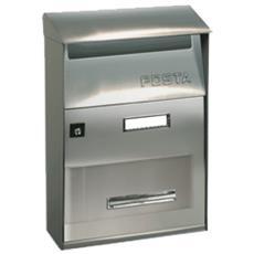 Cassetta Postale Con Tettuccio Per Esterno Serie Effe Acciaio Inox - Cassetta Post. Ft Evo Acc. 22x32,5 Ftixl