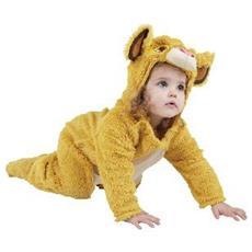 RBSIT886961-TODD Il Re Leone - Simba - Costume Peluche da Bambino