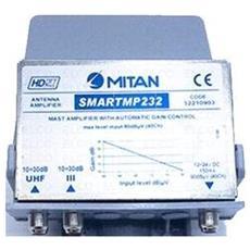 M52210903-materiale X Antenna -smartmp232 Ampl. Da Palo Uhf+band3 Crtl. Guad. Auto