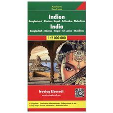 India-Nepal 1:2.000.000