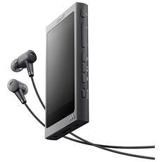 Lettore MP3 16GB con Cuffie Nero