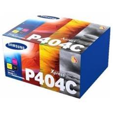 Clt-p404c Kit 4 Toner Originale Samsung Sl-c430w / sl-c480w / sl-c480fw