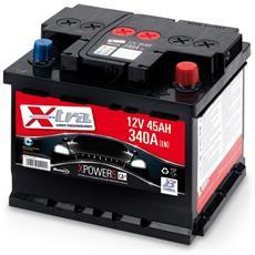 Batteria Auto - Accumulatore 12v 45 Ah   Pronta All'uso