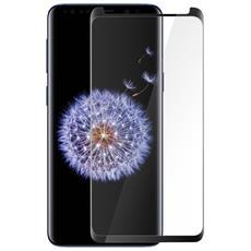 Pellicola Galaxy S9 Vetro Temperato 9h Muvit + Applicatore Bordi Ricurvi