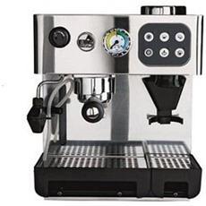 Domus Bar Dosata DED Macchina da Caffè Semiprofessionale Potenza 1200 Watt Colore Inox