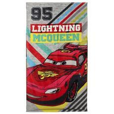 Asciugamano Telo Mare Cars Towel Lightning Mcqueen 140 X 70 Cm