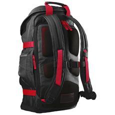 "39.62 cm (15.6"") Odyssey Backpack Red / Black, Nero, Rosso, Nylon, 335 x 155 x 465 mm"