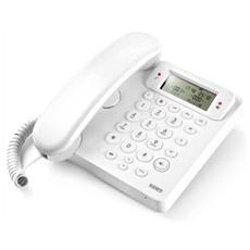 Telefono Multifunzione - Vivavoce - Identificatore Del Chiamante - Ego Bianco