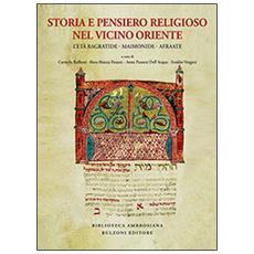 Storia e pensiero religioso nel Vicino Oriente