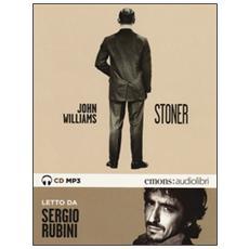 Stoner letto da Sergio Rubini. Audiolibro. CD Audio formato MP3