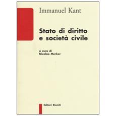 Stato di diritto e societ� civile