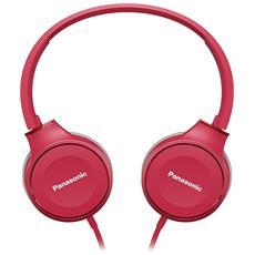 Cuffie con Microfono Cablato RP-HF100ME Colore Rosa
