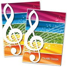 Maxi Music Book 100gr 16ff