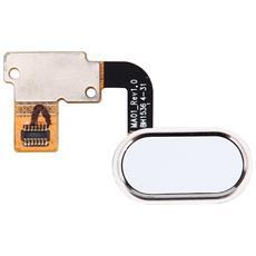 Ricambio Connettore Dispositivo Riconoscimento Impronta Digitale Bianco Per Meizu Meilan Metal