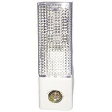 Lampada Da Notte E14 A Led Per Presa Di Corrente 4w Luce Fredda 6400k Con Sensore