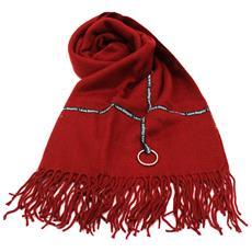 bdab9b0ace LAURA BIAGIOTTI - Sciarpa Donna 100% Acrilico Pashmina Con Frange 21287  Rosso