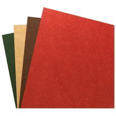 Copertine per rilegatura riciclate A4 naturali (100) , Beige, A4, 21,6 cm, 31,9 cm, 3,9 cm
