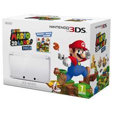 Console Nintendo 3DS Bianco Ghiaccio + Gioco Super Mario Land 3D