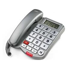 Telefono Multifunzione Vivavoce - Tasti Grandi - Macro Sos Ii