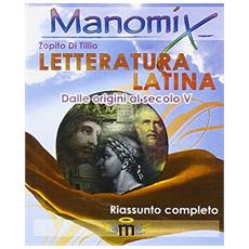 Letteratura latina. Riassunto completo