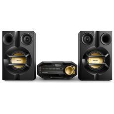 Sistema Mini Hi-Fi FX10/12 Bluetooth Potenza Totale 230W colore Nero