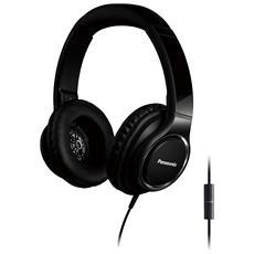 PANASONIC - Cuffie con Microfono Cablato RPHD6ME-K Colore Nero 874a2c74f94f