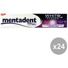 Set 24 Dentifricio White S. protezione Smalto 75 Ml. Prodotti Per Il Viso