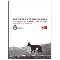 Poeti per la transumanza