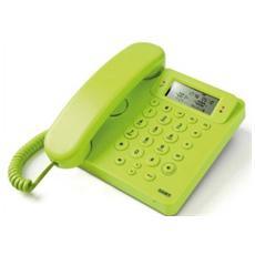 Telefono Multifunzione con Vivavoce e Identificatore del Chiamante colore Verde