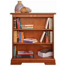 Libreria piccola con ripiani regolabili - L84 H 98 cm