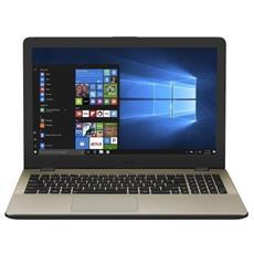 """Notebook X542UA-GQ070T Monitor 15.6"""" HD Intel Core i5-7200U Ram 4GB Hard Disk 500GB 1xUSB 3.1 2xUSB 3.0 Windows 10 Home"""