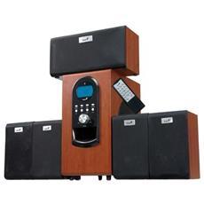 SW-HF5.1 6000, 200W, 40 - 20000 Hz, 80 dBi, Digitale, Legno, AAA